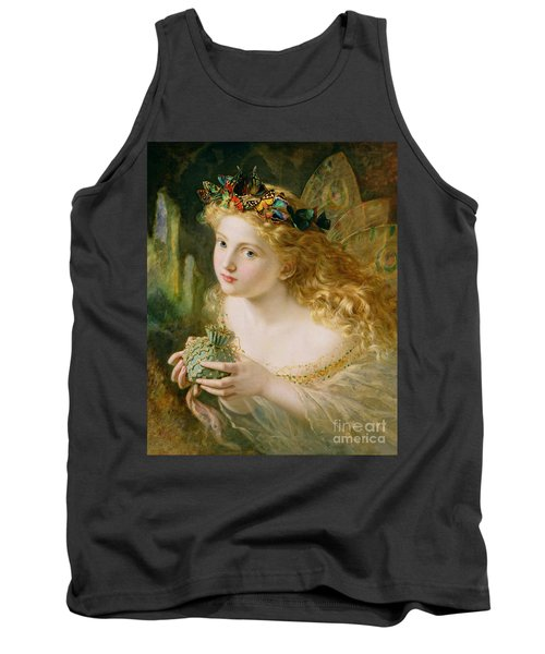 Take The Fair Face Of Woman Tank Top