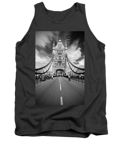 Tower Bridge In London Tank Top by Chevy Fleet