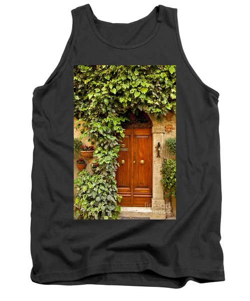 Tuscan Door Tank Top by Brian Jannsen