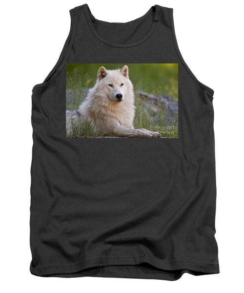 Arctic Wolf Tank Top by Wolves Only
