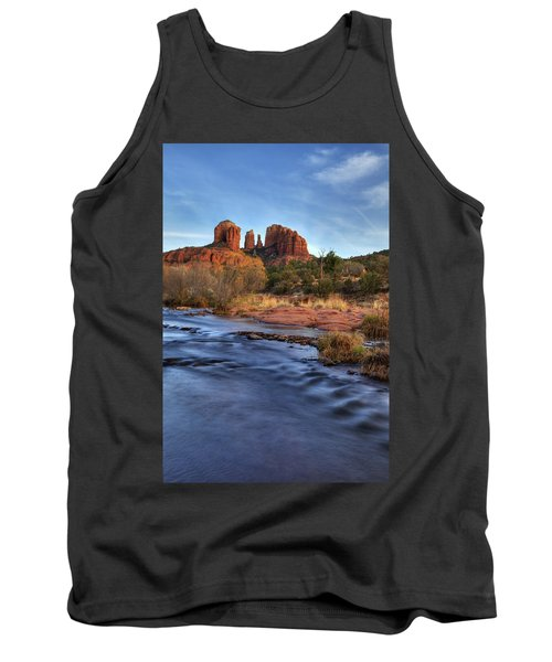 Cathedral Rocks In Sedona Tank Top by Alan Vance Ley