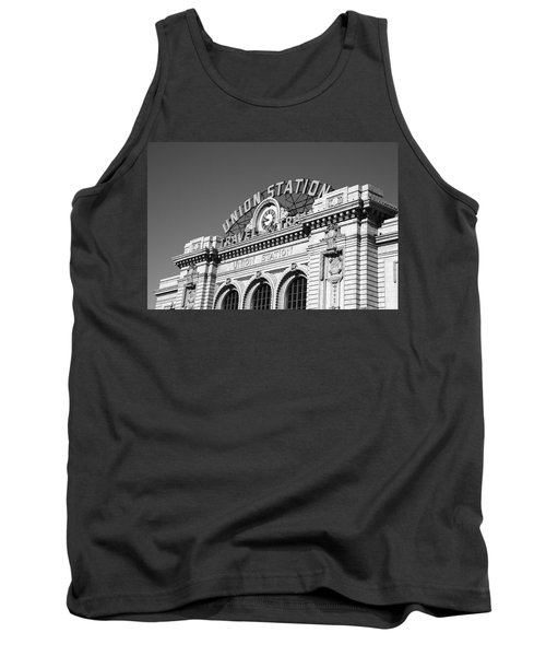 Denver - Union Station Tank Top by Frank Romeo