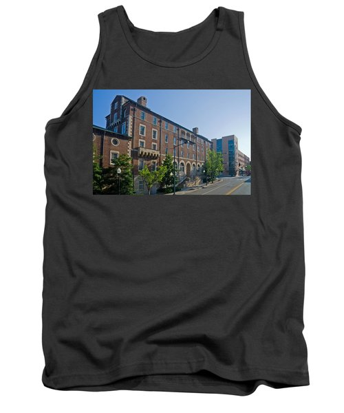 Downtown Knoxville Tank Top by Melinda Fawver