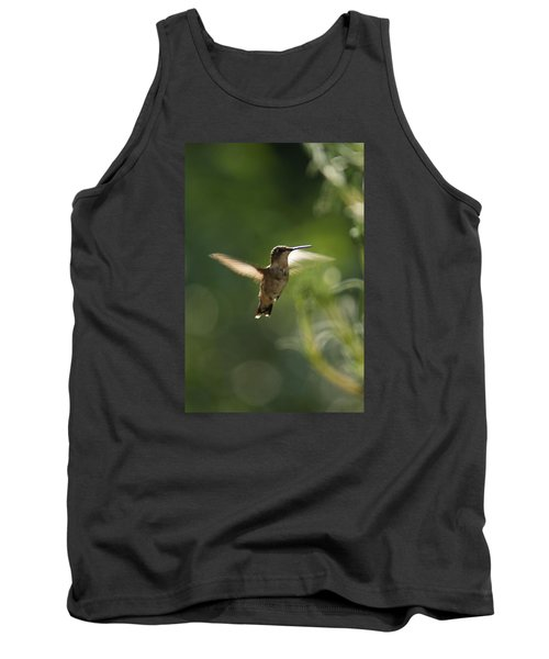 Tank Top featuring the photograph Hummer by Heidi Poulin