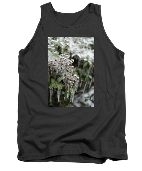 Tank Top featuring the photograph Ice  by Heidi Poulin