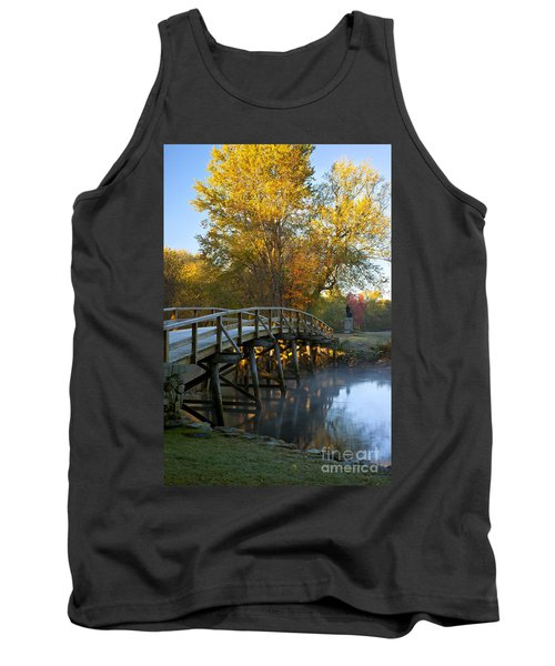 Old North Bridge Concord Tank Top by Brian Jannsen