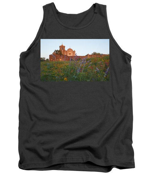 Tank Top featuring the photograph Presidio La Bahia 2 by Susan Rovira