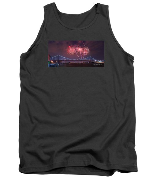 4 Th Of July Firework Tank Top