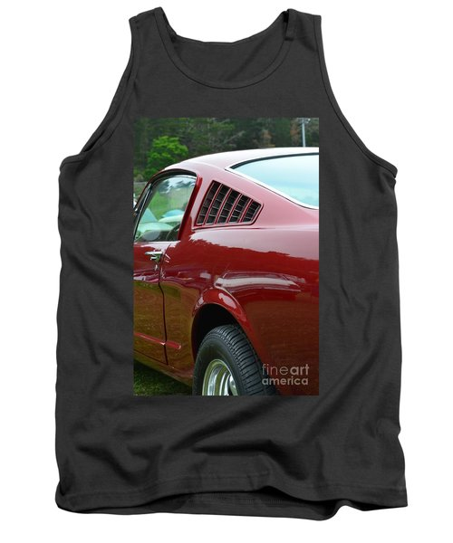 Classic Mustang Tank Top by Dean Ferreira