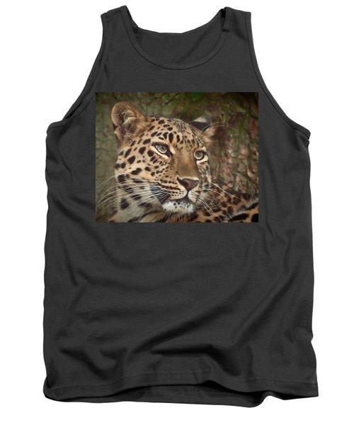 Amur Leopard Tank Top