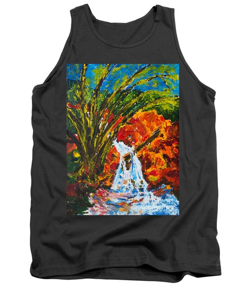 Burch Creek Waterfall Tank Top