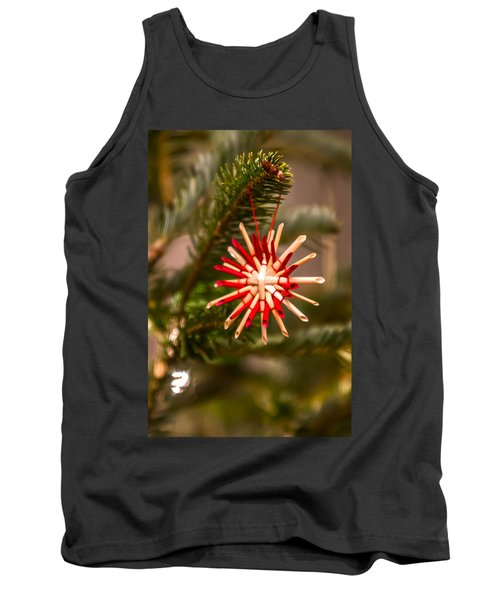 Tank Top featuring the photograph Christmas Tree Ornaments by Alex Grichenko