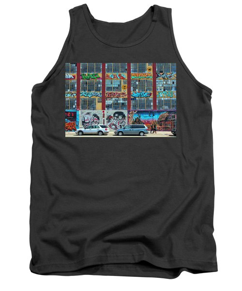 5 Pointz Graffiti Art 10 Tank Top