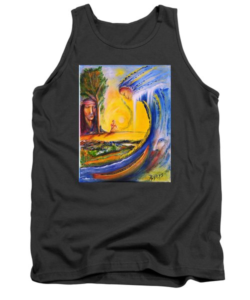 The Island Of Man Tank Top