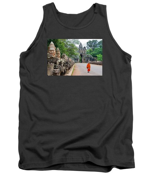 54 Gods And A Monk Tank Top