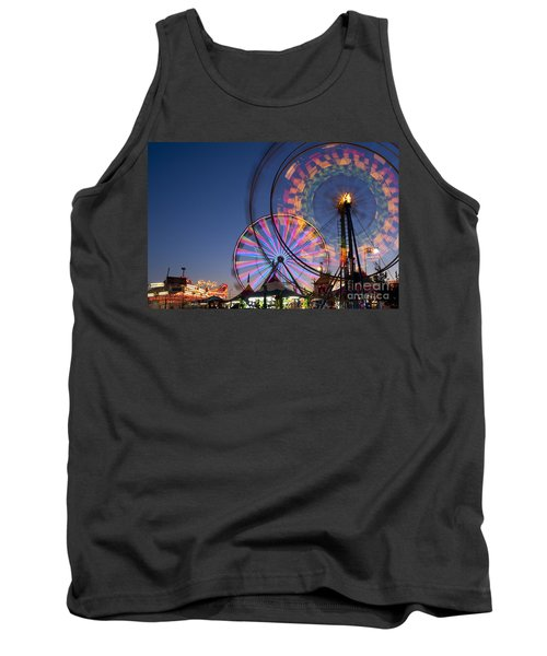 Evergreen State Fair With Ferris Wheel Tank Top