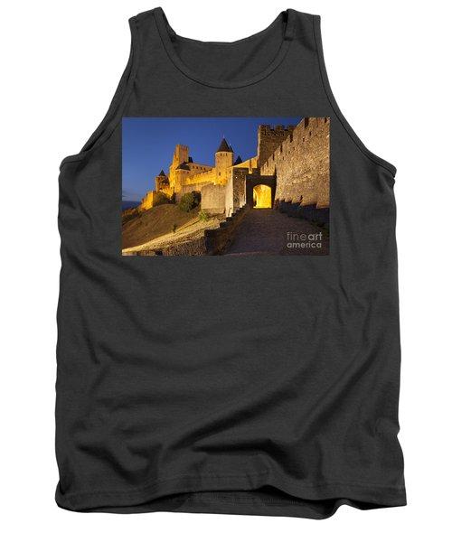 Medieval Carcassonne Tank Top