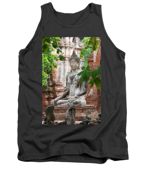 Buddha Statue Tank Top