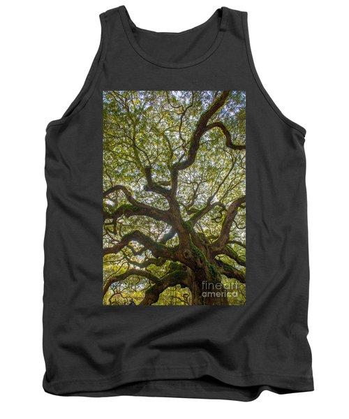 Island Angel Oak Tree Tank Top