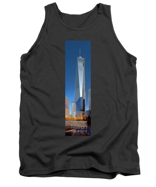 9/11 Memorial Tank Top by Mariarosa Rockefeller