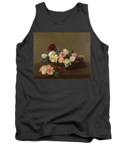 A Basket Of Roses Tank Top