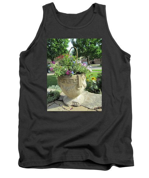 Tank Top featuring the photograph A Basket Summer  by Jieming Wang