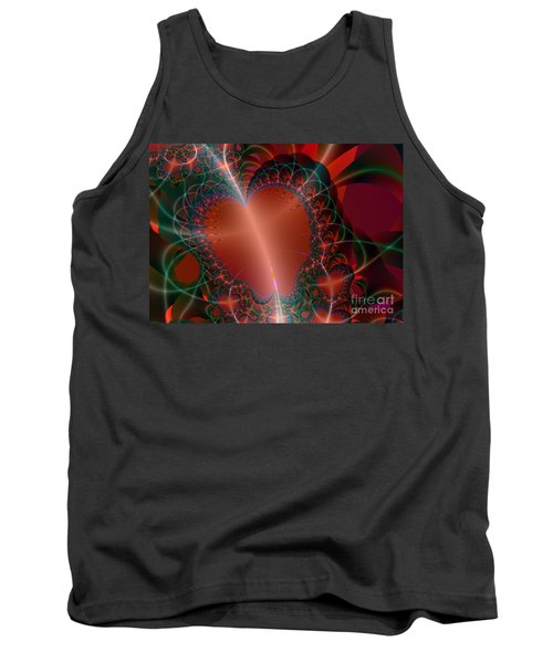 Tank Top featuring the digital art A Big Heart by Ester  Rogers