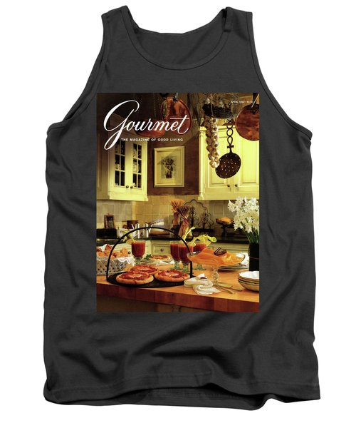 A Buffet Brunch Party Tank Top by Romulo Yanes