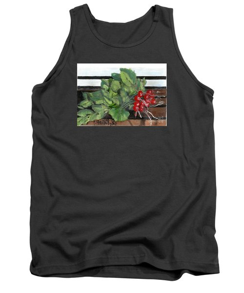 A Bunch Of Radishes  Tank Top by Francine Heykoop