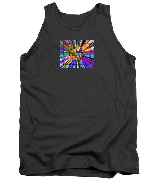 A Burst Of Flowers Tank Top