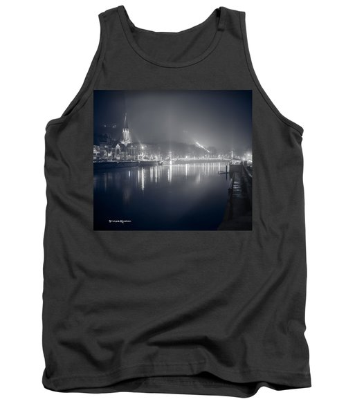 Tank Top featuring the photograph A Cathedral In The Mist II by Stwayne Keubrick