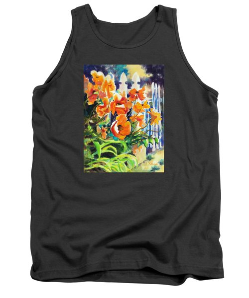 A Choir Of Poppies Tank Top by Kathy Braud
