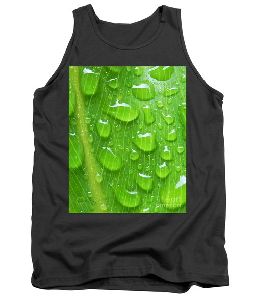 Tank Top featuring the photograph A Cleansing Morning Rain by Robert ONeil
