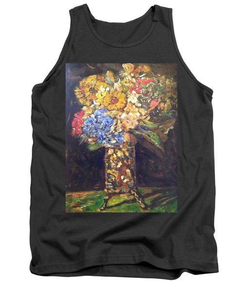 A Colorful Sun-day Tank Top