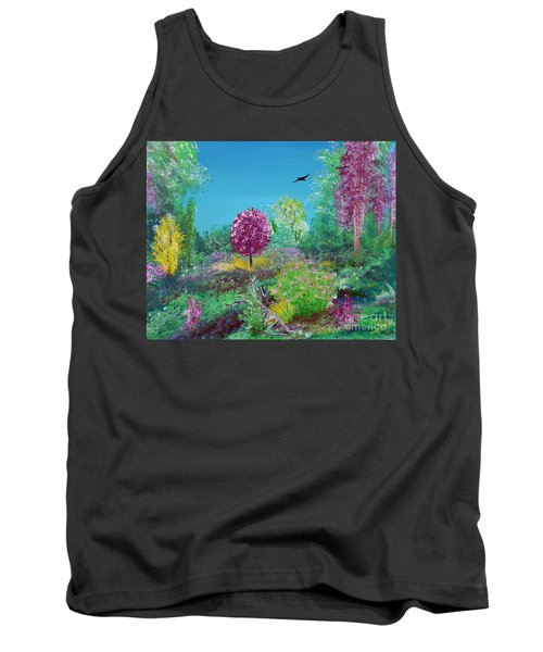 A Corner Of Heaven In Rural Indiana Tank Top