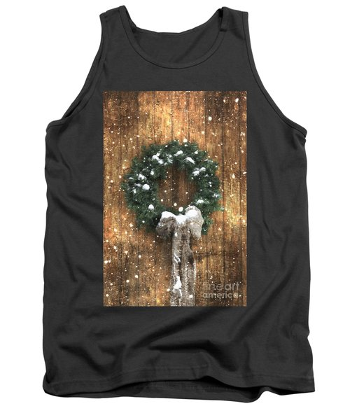 A Country Christmas Tank Top by Benanne Stiens
