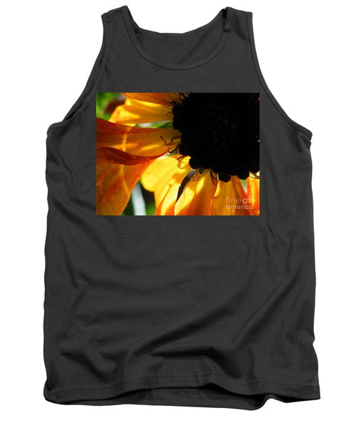 Tank Top featuring the photograph A Dark Sun by Brian Boyle