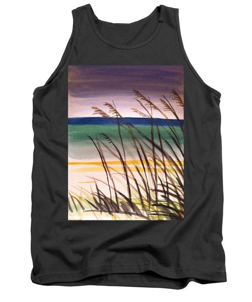 A Day At The Beach 2 Tank Top by Hae Kim