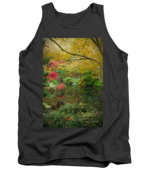 A Fall Afternoon With Message Tank Top