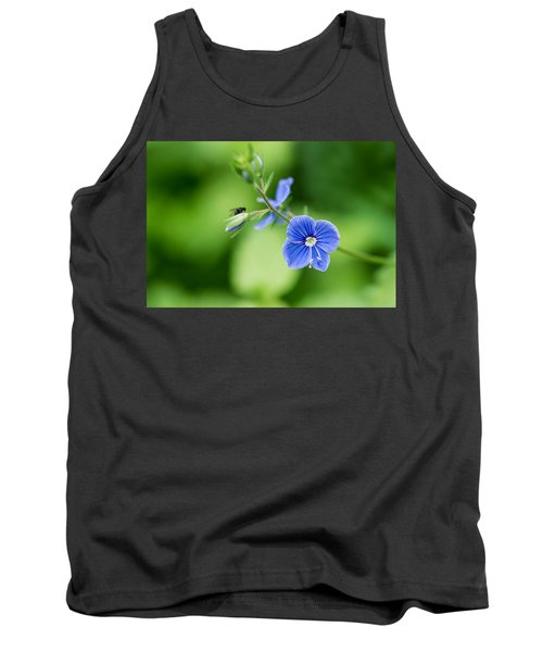 A Flower And A Fly - Featured 3 Tank Top by Alexander Senin