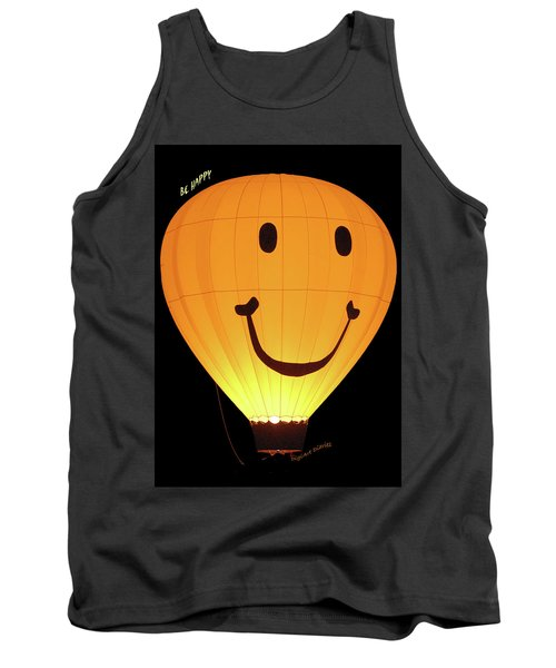 A Glowing Smile Tank Top