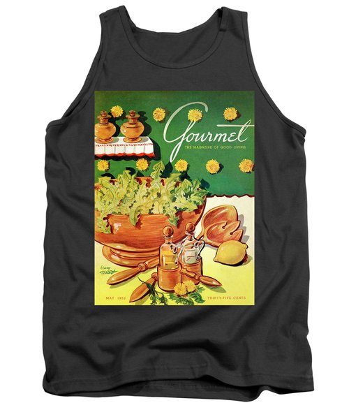 A Gourmet Cover Of Dandelion Salad Tank Top