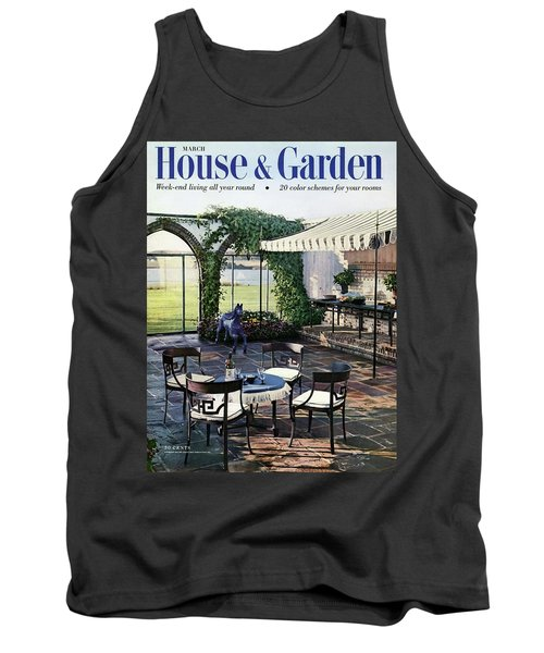 A House And Garden Cover Of A Terrace In East Tank Top