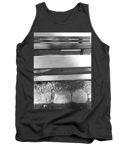 Tank Top featuring the photograph A Layered  Reconstruction by Esther Newman-Cohen