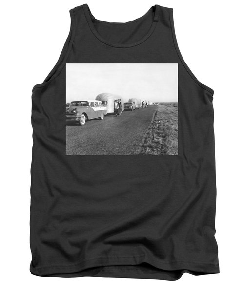 A Line Of Airstream Trailers Tank Top