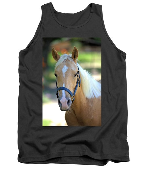 Tank Top featuring the photograph A Loyal Friend by Gordon Elwell