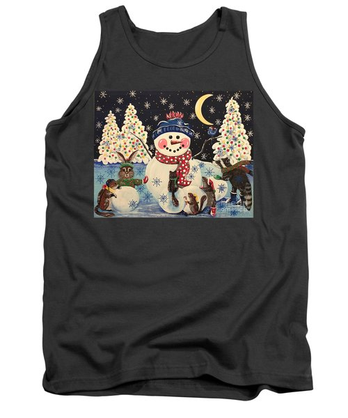 A Magical Night In The Snow Tank Top