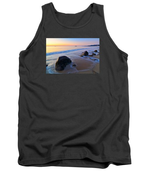A New Day Singing Beach Tank Top by Michael Hubley