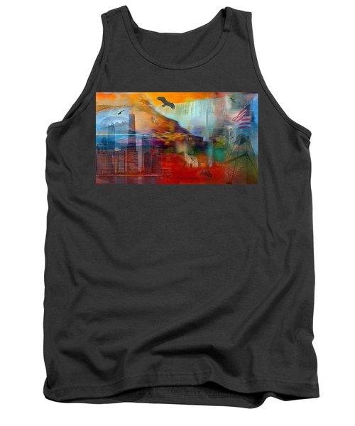 Tank Top featuring the photograph A Piece Of America by Randi Grace Nilsberg