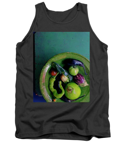 A Plate Of Vegetables Tank Top
